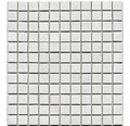 Keramická mozaika AT 101 biela 30,2 x 33 cm