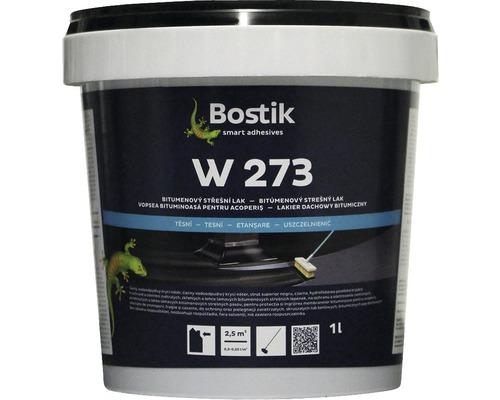 Bitúmenový strešný lak Bostik W 273, 1 l