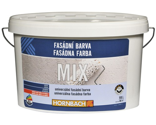 Fasádna farba Hornbach MIX, báza C 10l