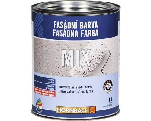 Fasádna farba Hornbach MIX 1l