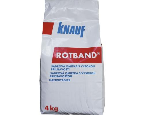 Sadrová omietka KNAUF Rotband univerzálna 4 kg biela