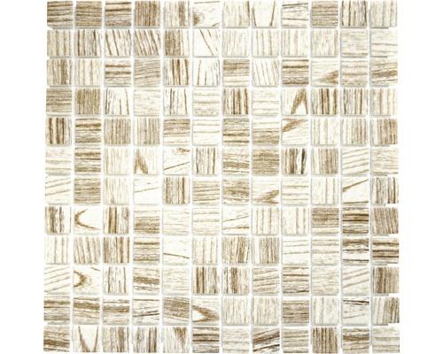 Sklenená mozaika CW 408 SVETLÁ 30x30 cm
