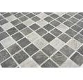 Sklenená mozaika CW 314 ŠEDÁ 30x30 cm