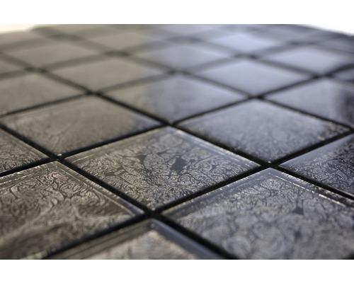 Sklenená mozaika XCM 8BL27 ČIERNA 30x30 cm