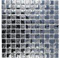 Sklenená mozaika XCM 8LU89 ČIERNA 29,8x29,8 cm