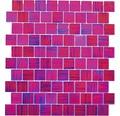 Sklenená mozaika XCM CF87 SKLO RUŽOVÁ 28,6x31,8 cm