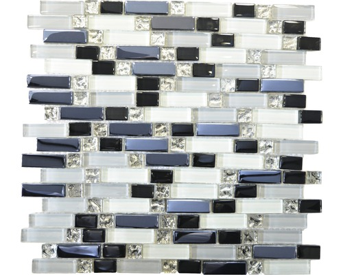 Sklenená mozaika XCM IL007 SKLO VIACFAREBNÁ 30x29,5 cm