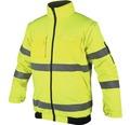 Výstražná nepremokavá bunda Howard Reflex veľkosť XL žltá