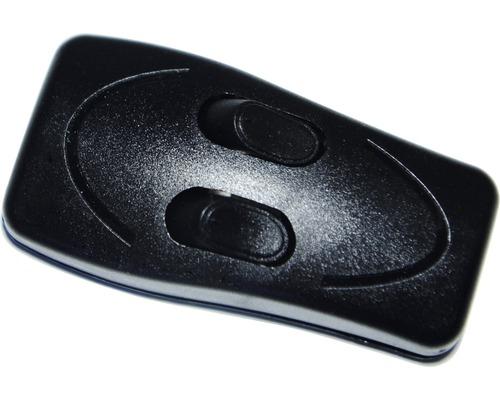 Medzišnúrový vypínač 2-páčkový čierny