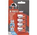 Sekundové lepidlo Roxolid X-PRESS 4x1g