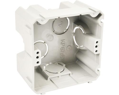 Inštalačná krabica prístrojová KP 67x67x42 mm