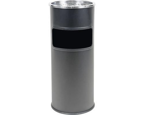 Odpadkový kôš s popolníkom Westside 25 l, Ø 250 mm