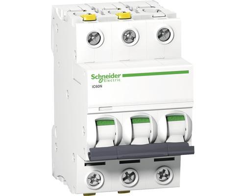 Istič Schneider Electric 3P, B, 32A, iC60N, 6KA