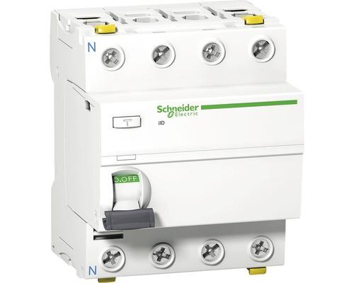 Prúdový chránič Schneider Electric 4P 40A/100mA, iID, 10KA