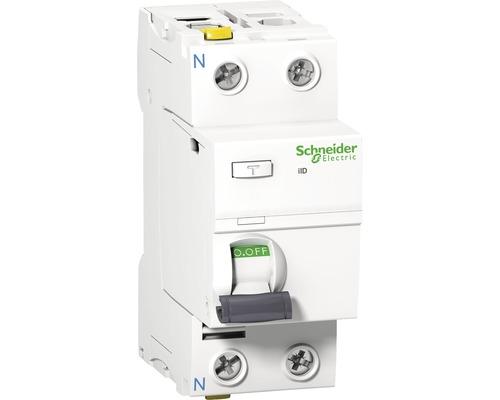 Prúdový chránič Schneider Electric 2P 25A/30mA, iID, 10KA