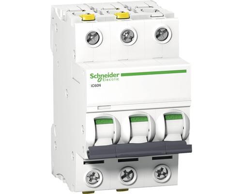 Istič Schneider Electric 3P, B, 25A, iC60N, 6KA