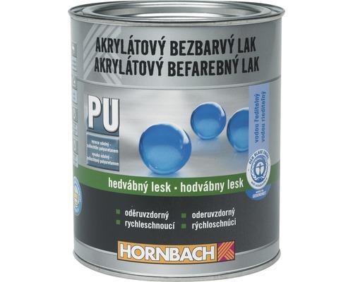 Akrylátový lak na vodnej báze Hornbach bezfarebný, hodvábny lesk 750 ml