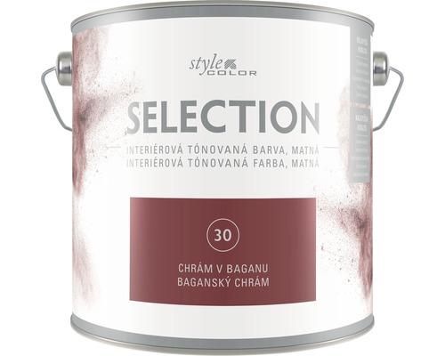 Farba na stenu Hornbach Selection odtieň 30, 2,5 l
