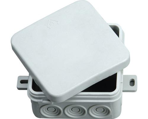 Rozvodná krabica IP54 s krytom 75x75x35 mm
