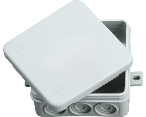 Rozvodná krabica IP54 s krytom 100x100x40 mm