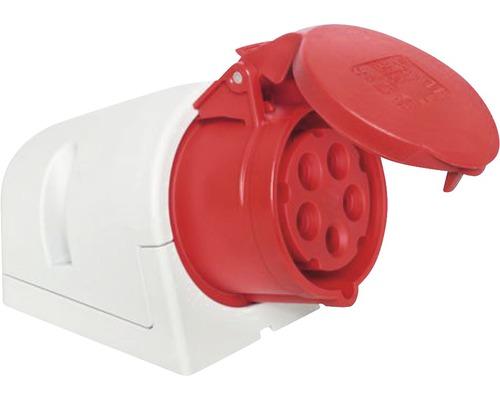Nástenná zásuvka IP44 5x16 A
