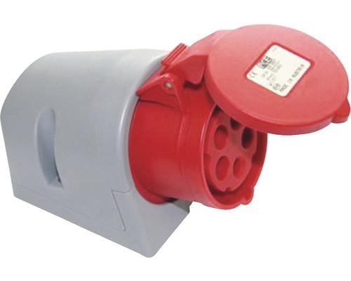 Nástenná zásuvka IP44 4x32 A