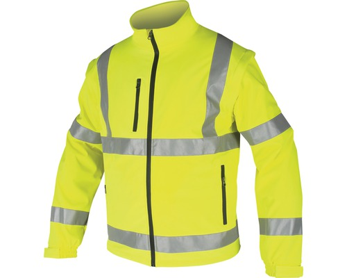 Reflexná softshellová bunda Ardon REF501 žltá veľkosť XXXL