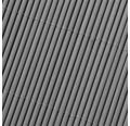 Zástena LOP 0,9x3 m farba šedá