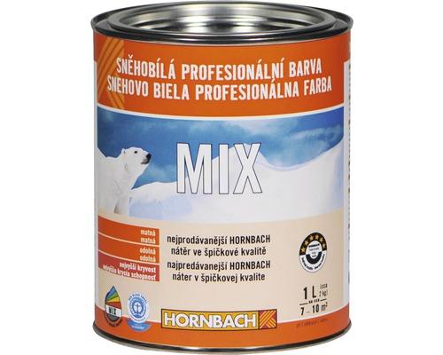 Snehobiela profesionálna farba Hornbach MIX, báza B 1l