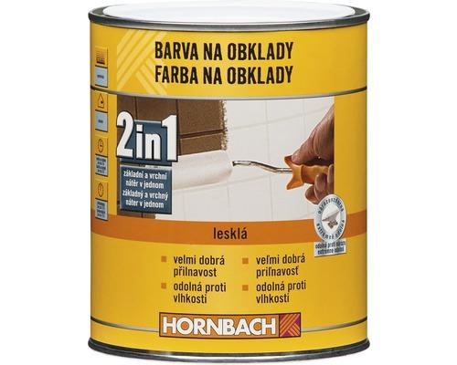 Farba na obklady 2v1 Hornbach biely, lesklý 1 l