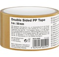 Obojstranná lepiaca páska 50 mm x 5 m, priehľadná