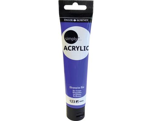 Akrylová farba SIMPLY ultramarine modrá 75 ml