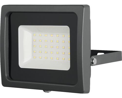 LED reflektor SMD IP65 30W 2700lm 4000K šedý