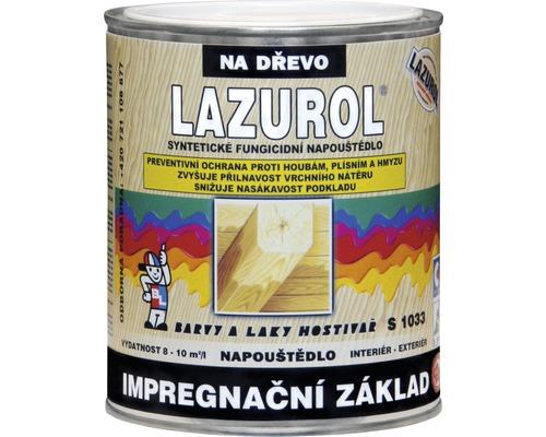 Lazurol základní impregnace S1033 čirý 0,75 L