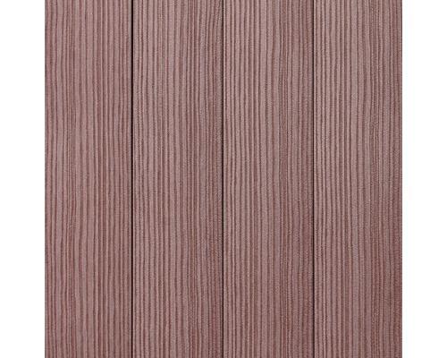 Plastová plotovka WPC PILWOOD 1200 x 120 x 12 mm, červenohnedá