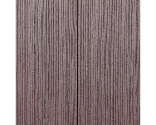 Plastová plotovka WPC PILWOOD 1500 x 120 x 12 mm, hnedá