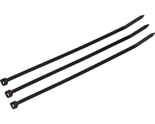 Sťahovacia páska SAPI 100 x 2,5 mm, čierna, balenie 100ks