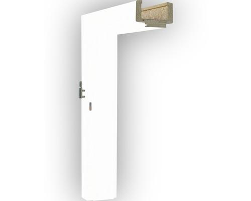 Obložková zárubňa Solodoor Snow 70 P šírka 75 - 95 mm biela