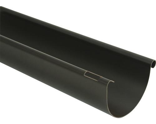 Odkvapový žľab Marley plastový hnedý Ø 125 mm, dĺžka 4000 mm