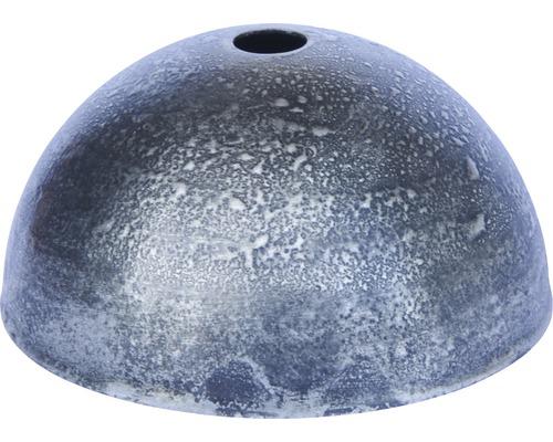 Baldachýn kovový patina starostrieborná Ø 80 mm