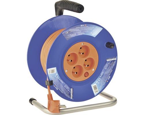Predlžovací kábel na bubne EMOS 4 zásuvky 1/25 m PVC 10A