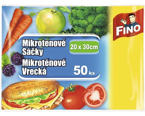 Mikroténové sáčky FINO, 20x30 cm, 50 ks