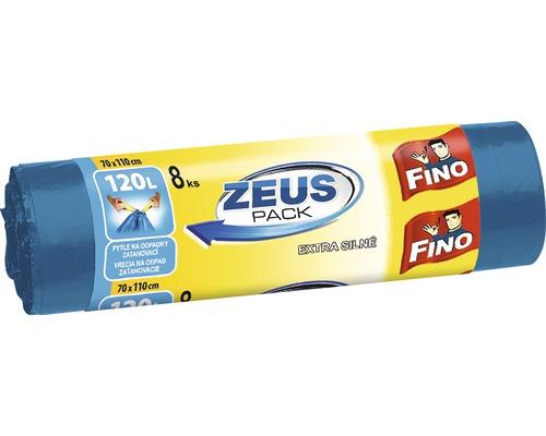 Vrecia na odpadky FINO Zeus 8x120 l