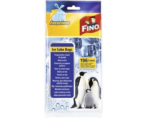 Sáčky na ľad FINO zaväzovacie 196 ks