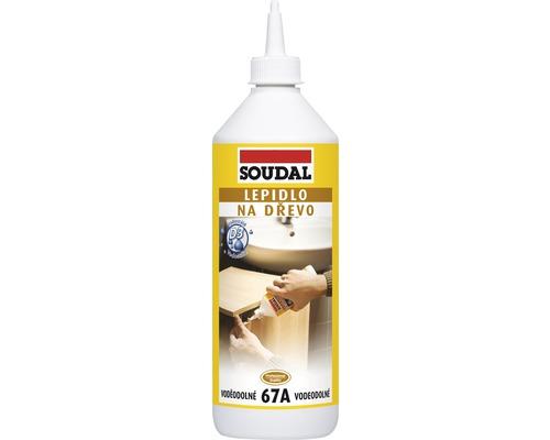 Lepidlo na drevo SOUDAL 67A vodostále 250 g