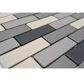 Keramická mozaika BR 555 čierna/sivá/béžová mix 29 x 29,5 cm