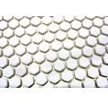 Sklenená mozaika CUBA HX17W BIELA 29x29,5 cm