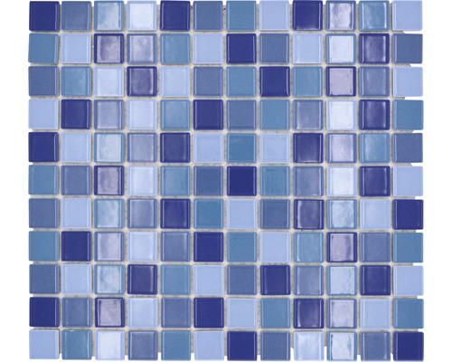 Keramická mozaika JT 250 modrá mix 30,2 x 33 cm