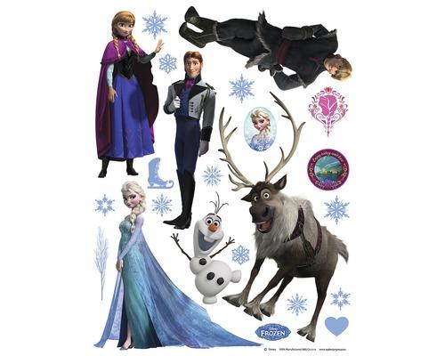 Nálepka na stenu mini Frozen