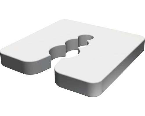 Vymedzovacia podložka pod soklové profily 5 mm, 50 ks
